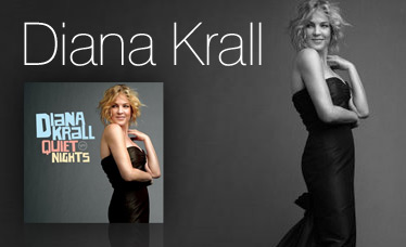 Diana Krall - the German website